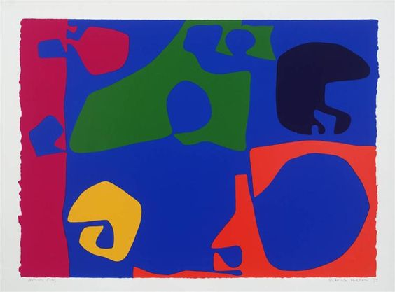 January 1973: 14, 1973 by Patrick Heron. Post-Painterly Abstraction. abstract