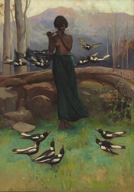 Sydney Long   Art Nouveau and Symbolist painter