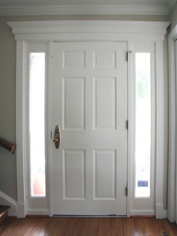 Breathtaking Door Makeover Ideas Interior Door Trim Doors