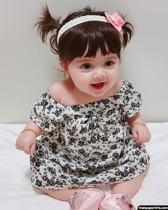 Cutie Little Angel Baby Doll Facebook Dp Pic Cute Baby Dresses Cute Little Baby Girl Cute Kids Pics