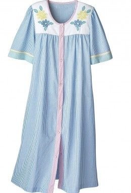 Comfortable Dusters Housecoats And Housedresses For Mom  Coats ...