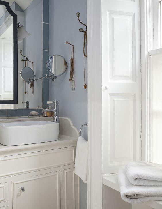 decorative bathroom cabinet, decorative hooks, georgian windows ...