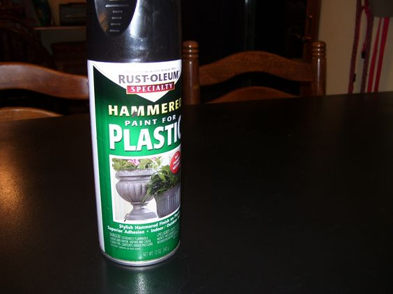 Countertop Paint Remover : 1980s countertop + black hammered finish made for plastic spray paint ...