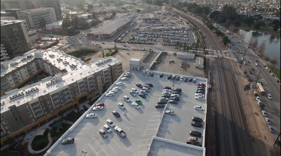 The High Cost Of Free Parking Urban Planning City Design City
