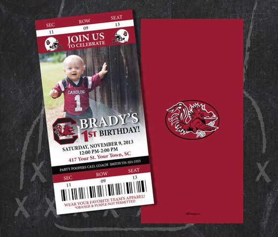 University of South Carolina, Gamecock Ticket Party ...