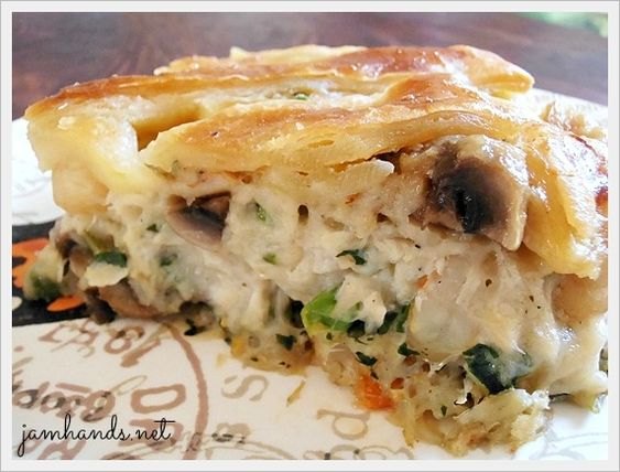 Pot Pie, a lot of the time it is basically a copy of chicken pot pie ...