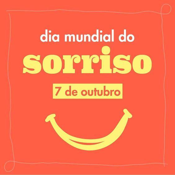 Não tem nada melhor do que sorrir para a vida! #diadosorriso #paisefilhosporaí