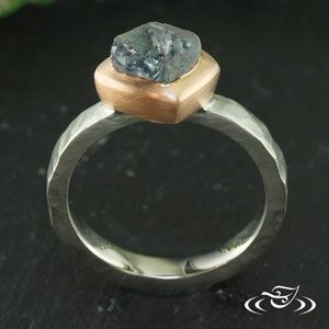 Full Bezel Rough Cut Sapphire Ring with Rustic Finish - See more at: http://www.greenlakejewelry.com/gallery/cust_gallery.aspx?ImageID=98737#sthash.gWj4wqFY.dpuf