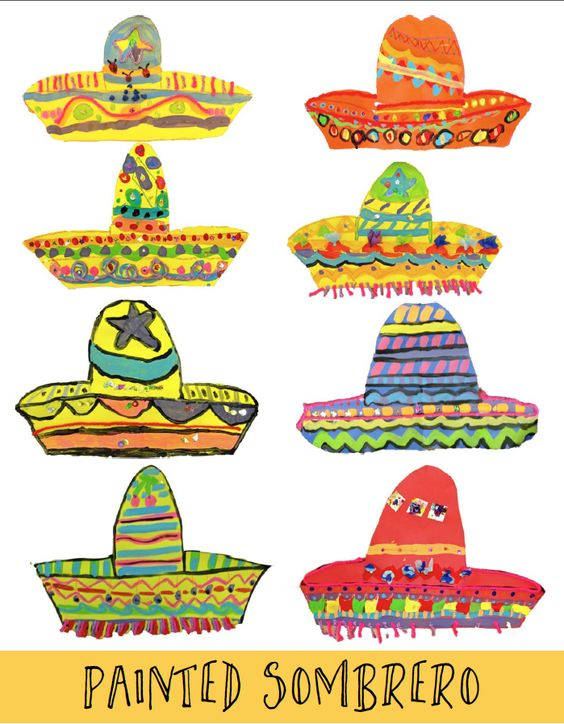 the vibrancy of the Mexican Culture. Like the sombreros, the ponchos were a huge hit with first and second grade students. This is a magical age in which kids love to stand up and move ar