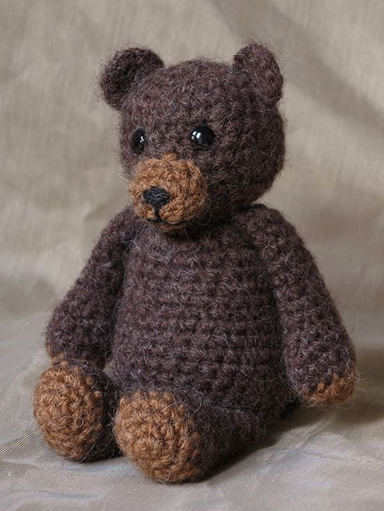 The smallest teddy bear is my favorite one. I called him ...
