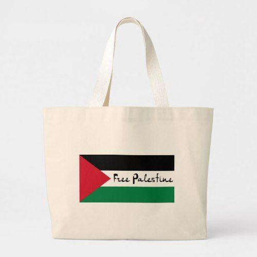 Palestinian Flag Keffiyeh Totebag