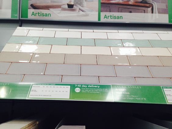 Kitchen Tiles Homebase laura ashley tiles from homebase | kitchen ideas | pinterest