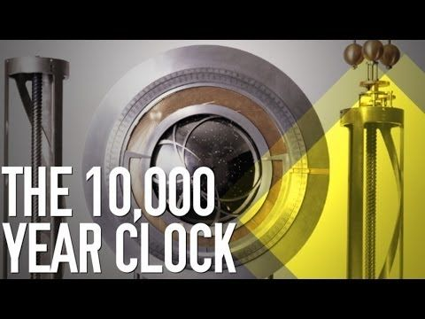 The 10 000 Year Clock Youtube In 2020 The Long Now Clock 10 Things