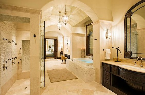 Salle de bain méditerranéenne