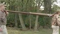 Clay Pigeon Shooting With The Punt Gun