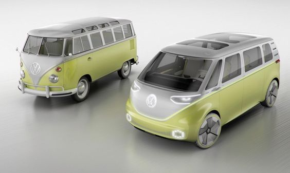 VW is finally getting ready to release a new Microbus - the all-electric I.D. Buzz unveiled at the Detroit Auto Show.