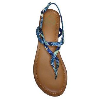 FERGALICIOUS Sunday Sandal Blue Floral