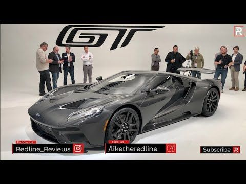 2020 Ford Gt Liquid Carbon Redline First Look 2020 Chicago