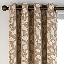 Jcpenney Sonoma Leaf Grommet Top Curtain Panel Sullivan