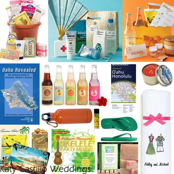 Hawaii Destination Wedding Welcome Bag Ideas : Welcome bags, Tourist information and Bags on Pinterest