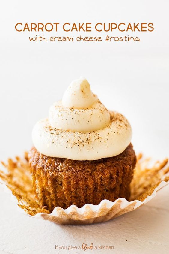 Carrot Cake Cupcakes | If You Give a Blonde a Kitchen