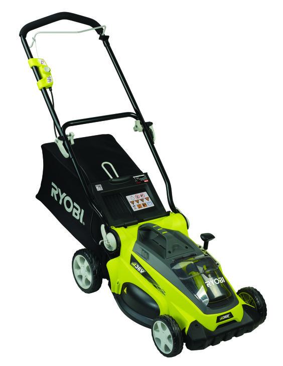lawn mower cordless ryobi 36v li ion unit only rlm36b bunnings warehouse my wishlist. Black Bedroom Furniture Sets. Home Design Ideas