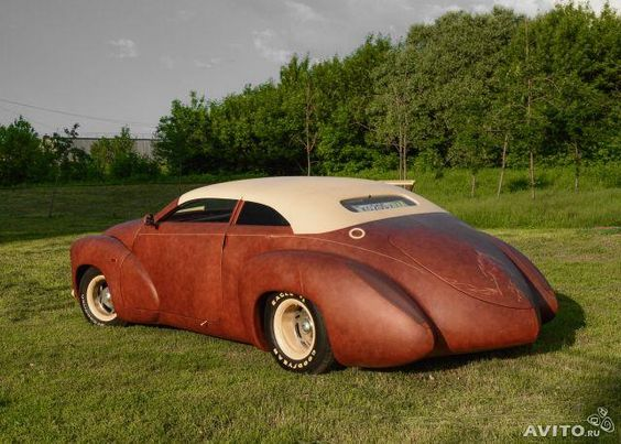 Кожаный автомобиль от мастеров с Ближнего Востока