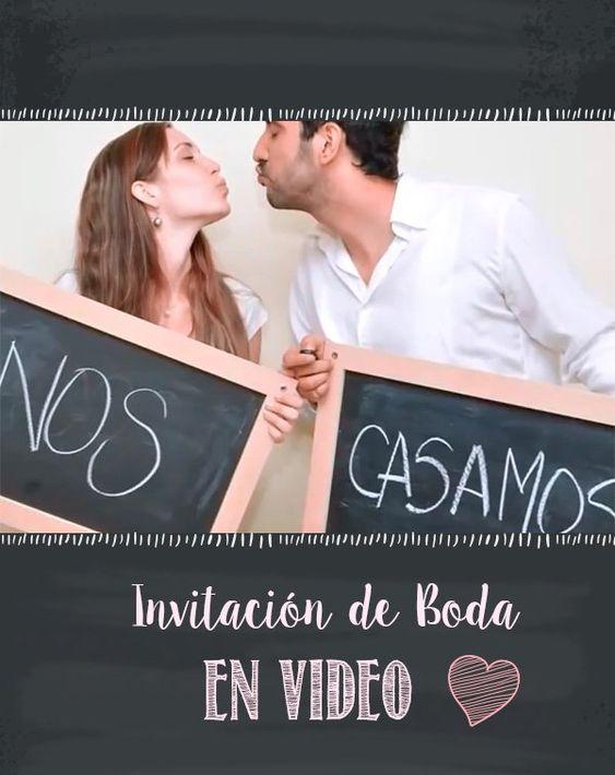 Divertida y Original Invitación de Boda en Video