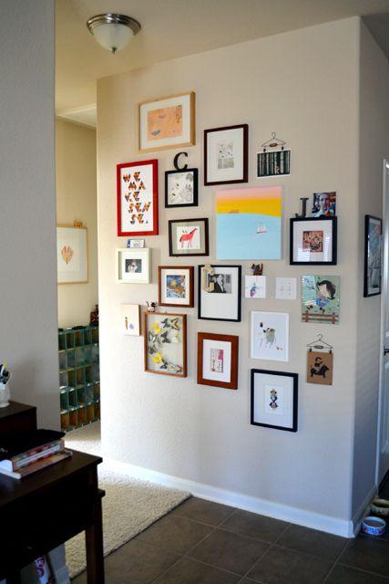 Frames...a happy wall!!!