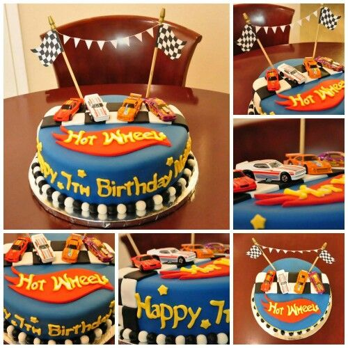 Cars Cake Design Red Ribbon : Hot wheels cake Festa Carrinho Pinterest Bolos, Bolo ...