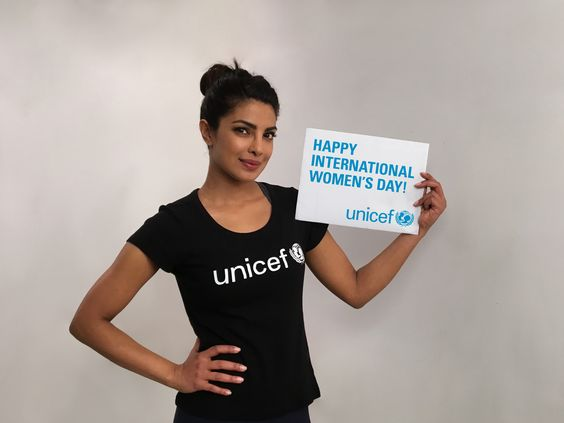 Happy #InternationalWomensDay! Join the global movement to say 'Every girl has rights!' #IWD2016 @priyankachopra