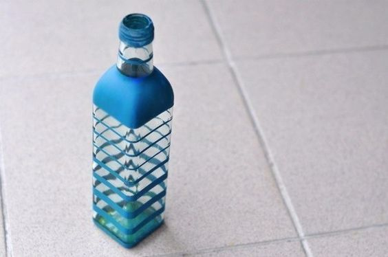 Bottle decoration (DIY)
