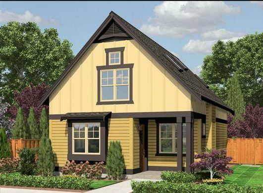 Quaint and affordable cottage this plan makes excellent for Affordable cottage house plans
