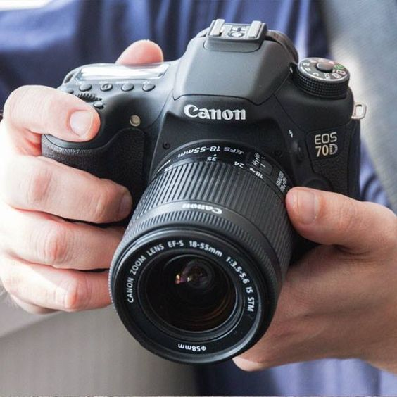 Explore your creativity with Canon EOS 70D!