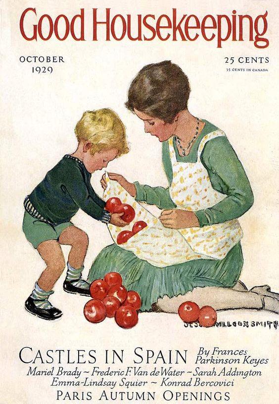 .Vintage Good Housekeeping Magazine Covers Good Housekeeping Magazine October 1929