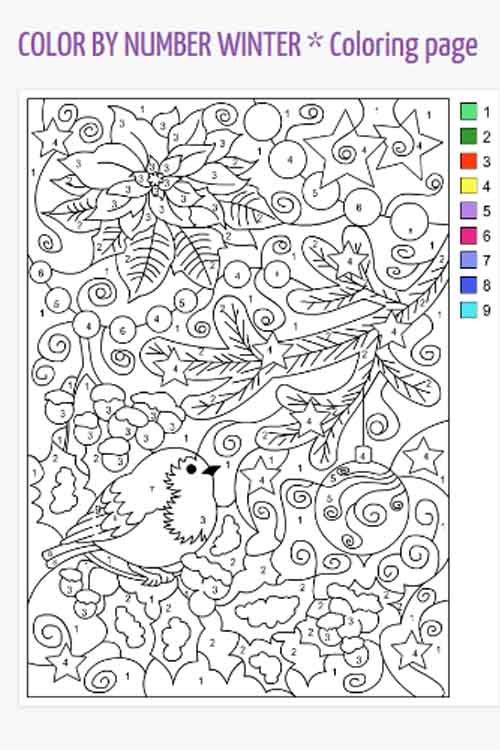 Three Free Color By Number Resources We Love To Use For Our Autistic Son Christmas Coloring Pages Color By Number Printable Christmas Color By Number