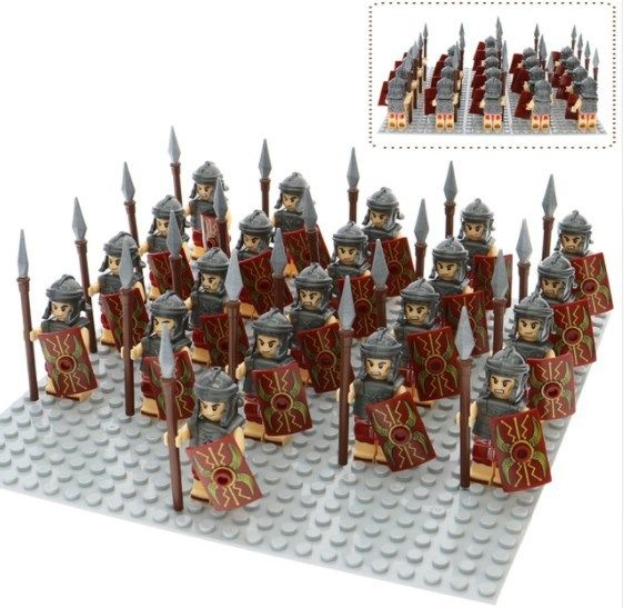 21pcs Rome Fighters Gladiatus Warriors Medieval Knights Minifigures Custom Toys Minifigures Toys Custom Army Mini Figures Lego War Lego Minifigures I promise i'll be polite :) i agree to the privacy policy regarding collecting and storing ip addresses. lego war lego minifigures