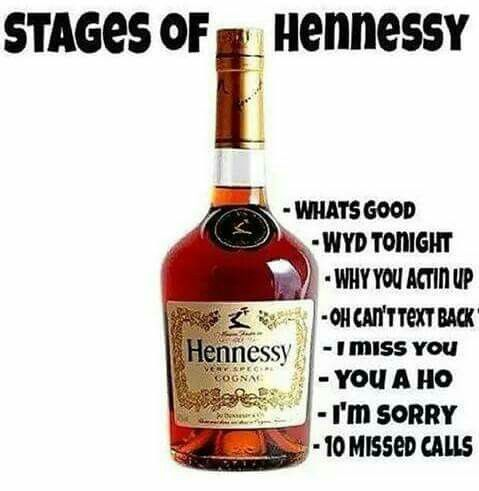 Stages of Hennessey | Humor | Pinterest