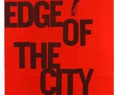 1957 Edge of the City Original US Film Poster #vintage #film #poster