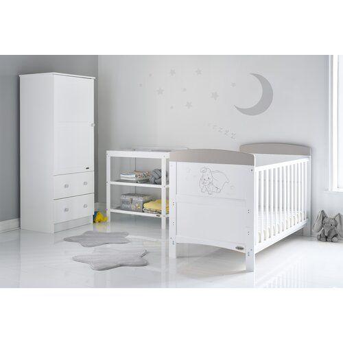 Dumbo Cot Bed 3 Piece Nursery Furniture