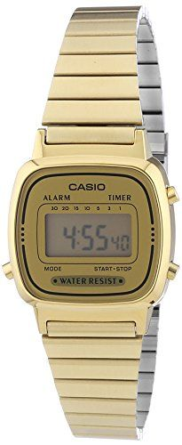 Casio Collection Damen-Armbanduhr Digital Quarz LA670WEGA-9EF