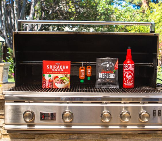 The Sriracha Cookbook: Ultimate Sriracha Burger? Yes, please.  Country Archer: Sriracha + Beef Jerky = Awesome. Do yourself a favor and go for the 6-pack.  Sriracha beer. Period.