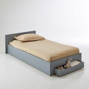 Gezien op beslist.be: 1 persoonsbed, met bedbodem en lade, Crawley