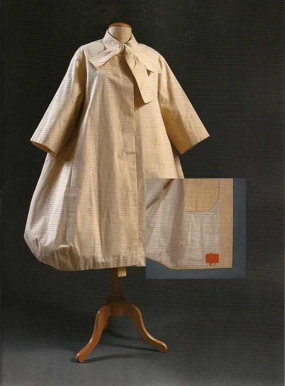 Castillo/Lanvin coat toile, 1958 from Couture & Commerce