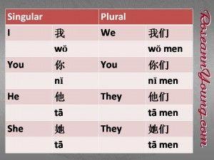 I, You, He, or She | 语法 Grammar, 代词 Pronoun #chinese #mandarin #language