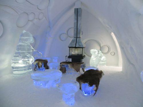 A Photo Tour Of Qu Bec 39 S H Tel De Glace Ice Hotel The