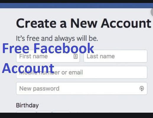 Free Facebook Account Sign In Www Facebook Com Sign Up Login