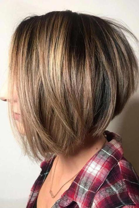 Straight Popular And Stylish Cuts  #bobhaircut #stackedbob #haircuts #mediumhair #straighthair #bobstylehaircuts #layeredbobforthinhair