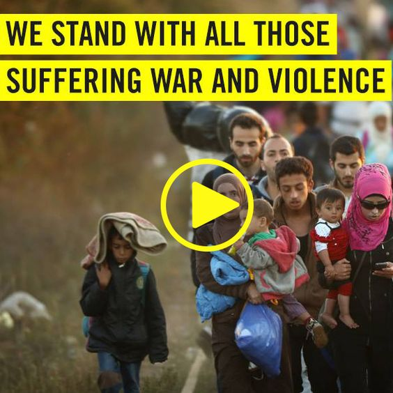 Don´t just blame it on us Europeans only - Please give refuge for those which had to leave their home countries !!! Where can they go? Help Syrian Refugees today
