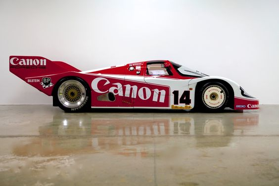 1983 Porsche 956  - Richard Lloyd Racing